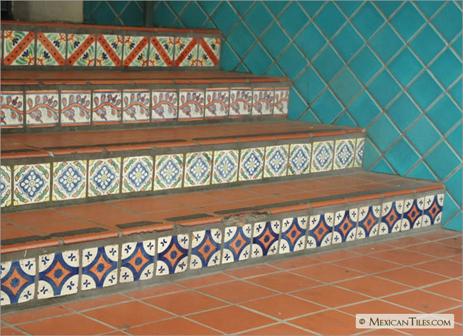 Saltillo Tile Restoration Mexican Tile Cleaning Kansas  Mexican Tile. Simple Copper Sinks And Mexican Tile In ...