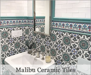 Malibu Handcrafted Ceramic Tile