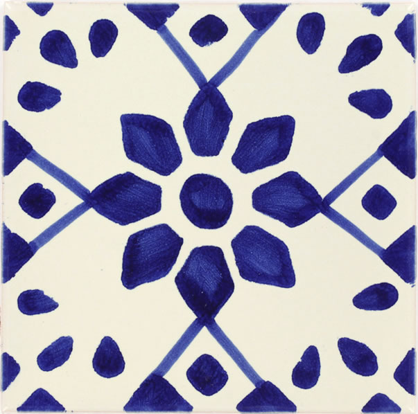 Mexican tile beatriz mexican tile for Oficina zona azul talavera