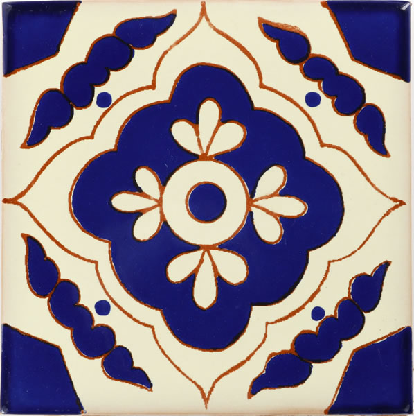 mexican tile toledo azul mexican tile