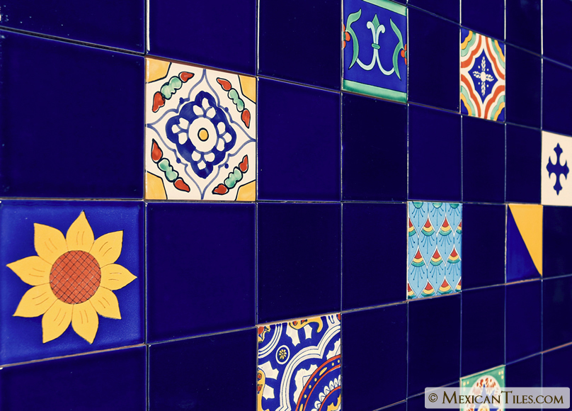mixed tile