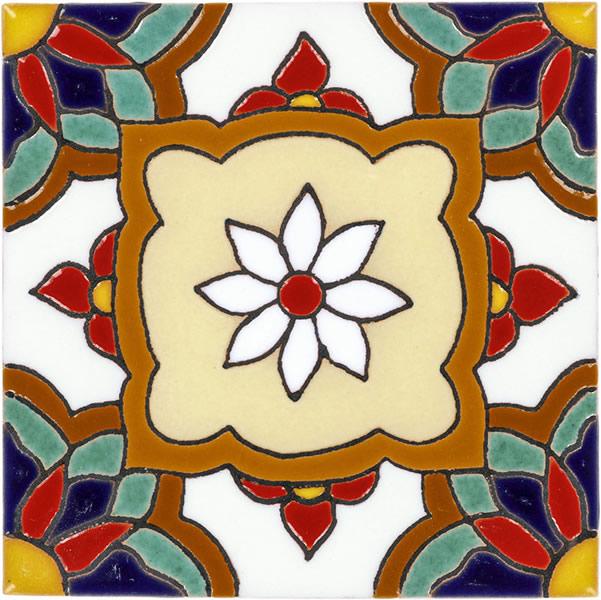 Mexican Tile Jazmin 2 Malibu Ceramic Tile