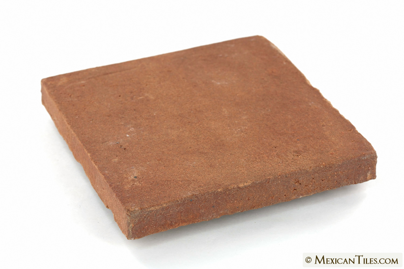 Mexican Tile X Tierra Floor Tile - 4x4 terracotta tile