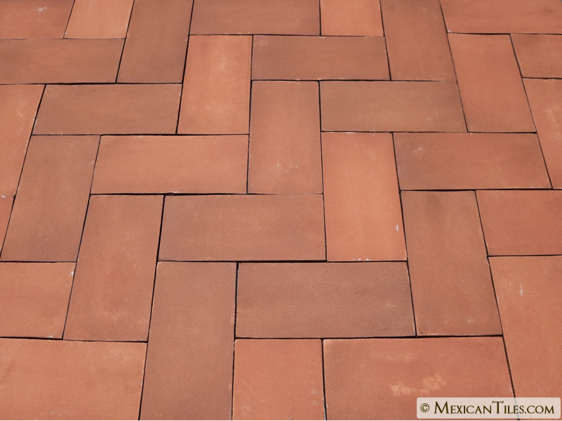 Mexican Tile 4 X 8 Tierra Floor Tile Rectangular