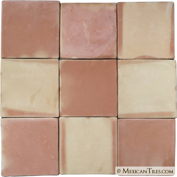 Mexican Tile Super Saltillo Terracotta Floor Tile Rounded Edges