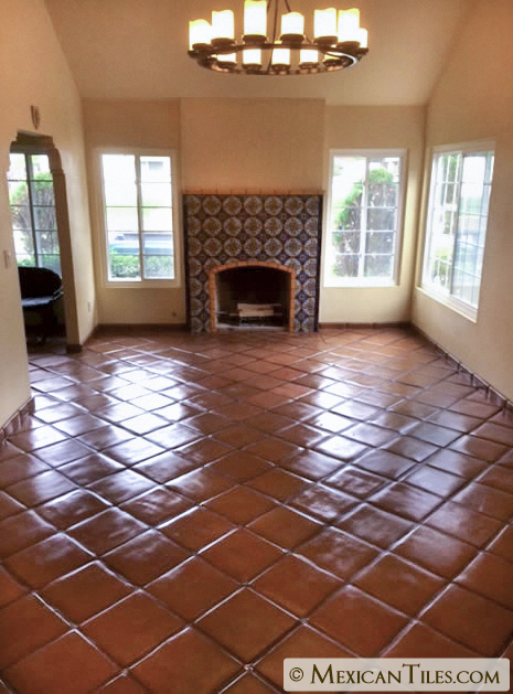 Spanish Mission Red Terracotta Floor Tile