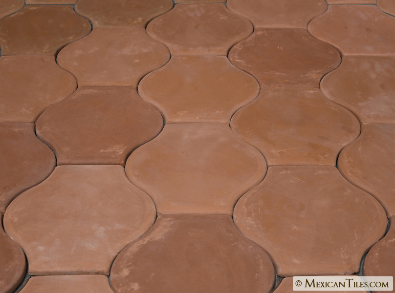 Mexican Tile Spanish Mission Red Terracotta Floor Tile Arabesque 1