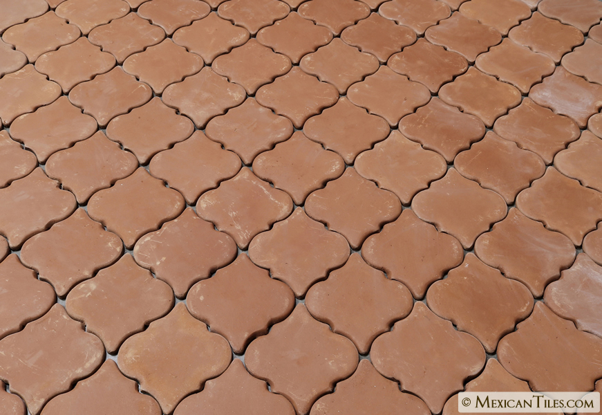 Mexican Tile Spanish Mission Red Terracotta Floor Tile Arabesque