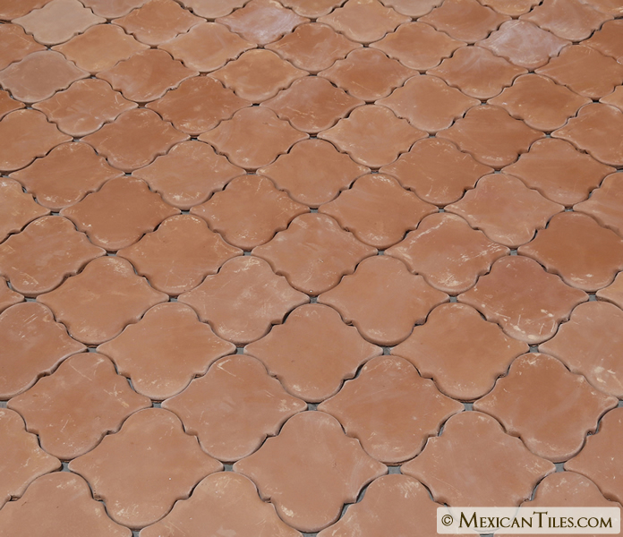 Mexican Tile Spanish Mission Red Terracotta Floor Arabesque Picket