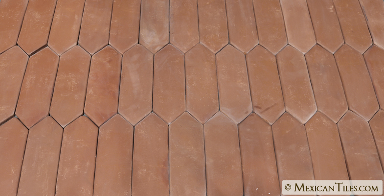 Mexican Tile Spanish Mission Red Terracotta Floor Tile Picket