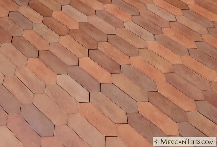 Mexican Tile 4 X 12 189 Tierra Floor Tile Arrow