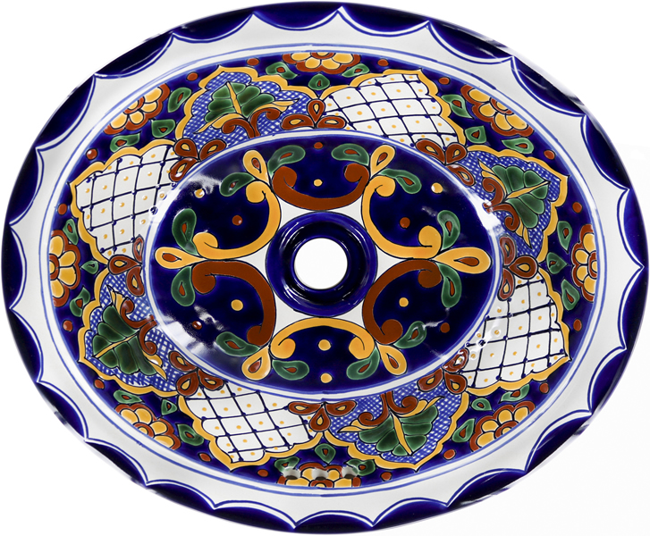 Mexican Tile Mexican Talavera Sink San Miguel On Pure