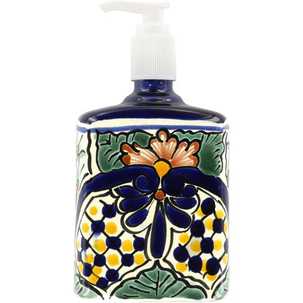 Mexican Tile Corsica Lotion Soap Dispenser
