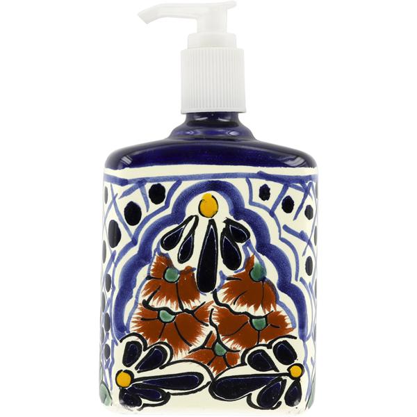 Mexican Tile Lotion Soap Dispenser N 229