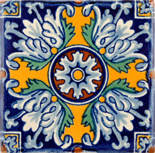 Mexican Tile Ceramic High Fired Tile For Kitchen