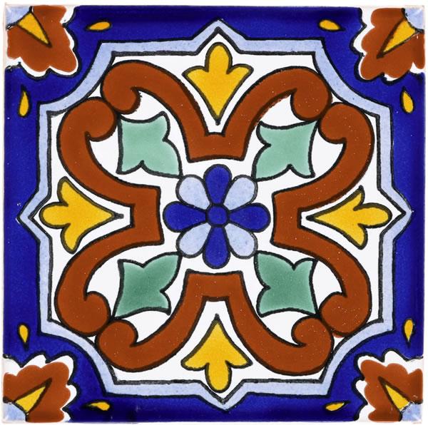 Mexican Tile - Terra Nova Mediterraneo Superior Quality Handcrafted