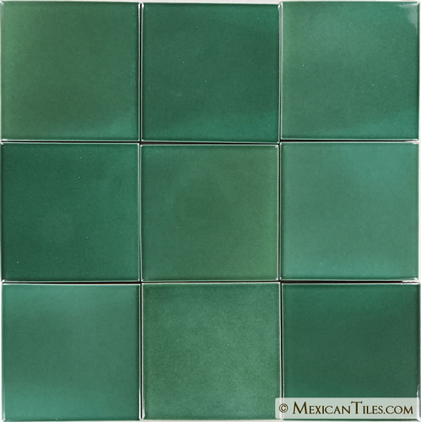 Mexican Tile Light Green Terra Nova Mediterraneo Ceramic
