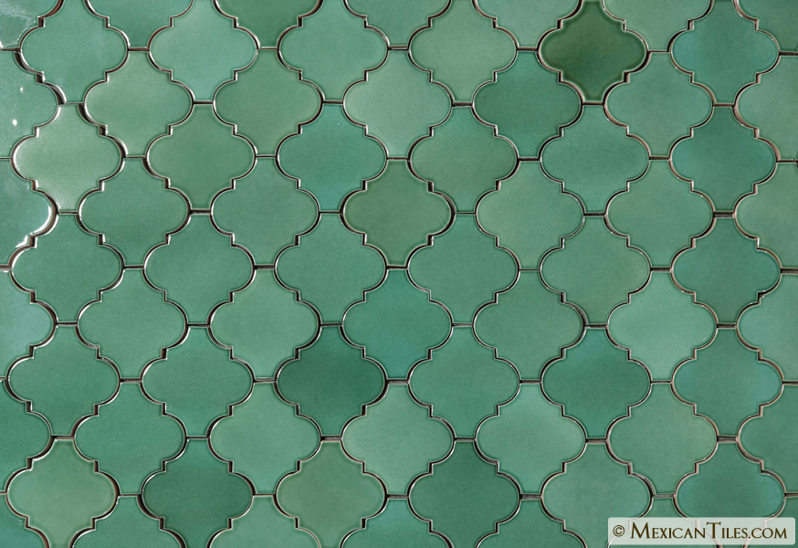 Mexican Tile Light Green Andaluz Terra Nova Mediterraneo Ceramic Tile