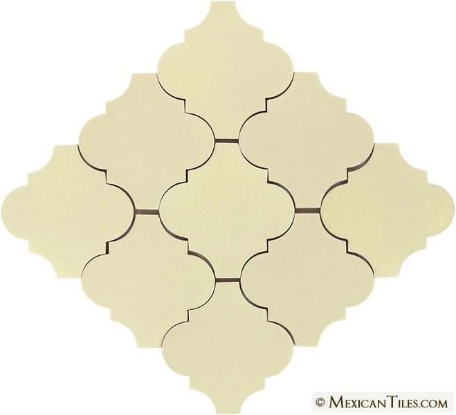 Mexican Tile Yellow Quartz Matte Andaluz Malibu Ceramic Tile