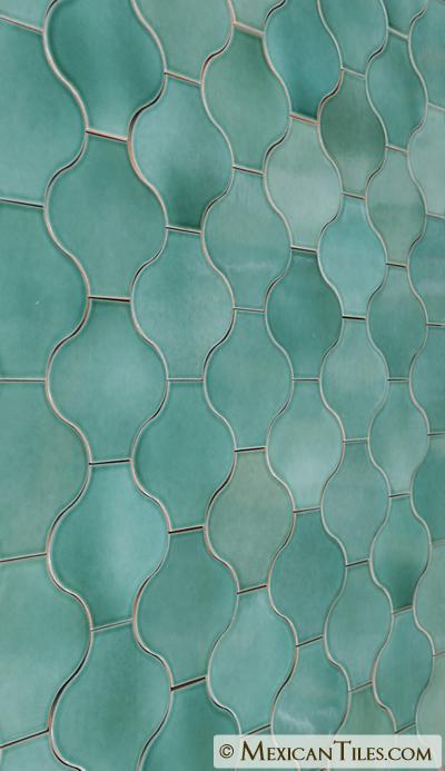 Mexican Tile Light Green Moroccoterra Nova Mediterraneo