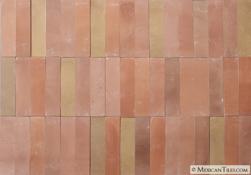 Unglazed floor tile