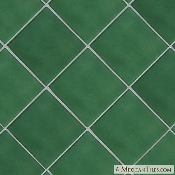 Mexican Tile 8 188 X 8 188 Hunter Green Sevilla Floor Tile