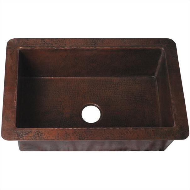 Mexican Tile Hammered Copper Kithen Sinks Copper Bathroom Sink