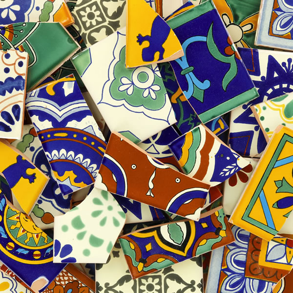tile for mosaic projects solid color and decorative mexican talavera tiles - Home Decor Tile