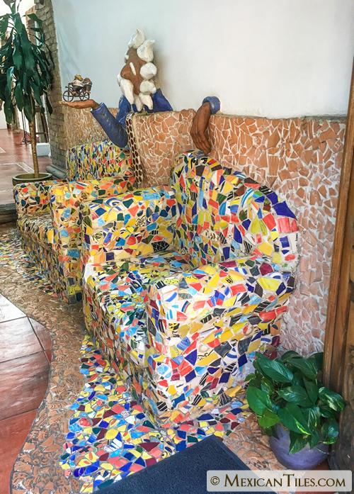 Mexican Tile Broken Mexican Talavera Tiles Decorative