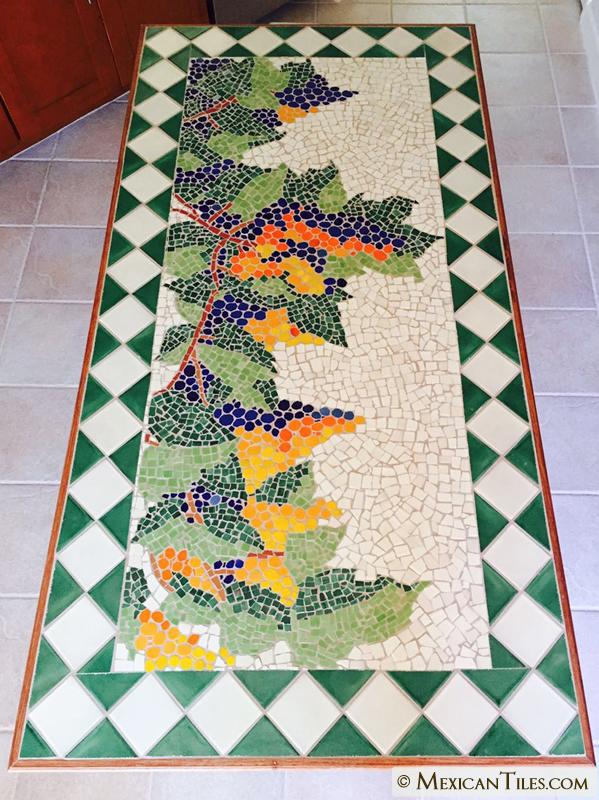Mexican Tile Broken Mexican Talavera Tiles Solids