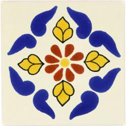 Campeche - Ceramic Handcrafted Mexican Talavera Tile Decorative