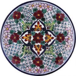 Plate 11 - Handpainted Mexican Talavera Ceramic Plate