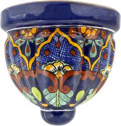 Tepic - Mexican Pottery Talavera Wall Planter
