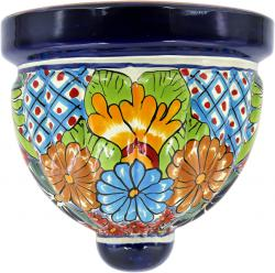 Model 8 - Mexican Talavera Ceramic Wall Planter