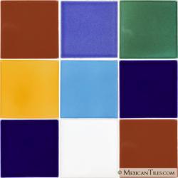 Set N.24 - Handcrafted Terra Nova Mediterraneo Tile Set