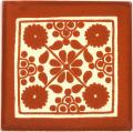 Terra Cotta Damasco - Mexican Ceramic Tile
