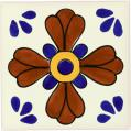 Blue Seville - Decorative Mexican Tile