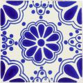 Blue Lace - Talavera Mexican Tile