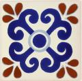 Zacatecas - Ceramic Hand painted Mexican Talavera Tile
