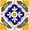 Guadalajara - Ceramic Handcrafted Mexican Talavera Tile Decorative