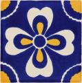 Carmen - Ceramic Hand painted Mexican Talavera Tile