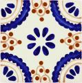 Madrid - Ceramic Hand painted Mexican Talavera Tile