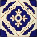 Toledo Azul - Mexican Ceramic Tile