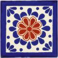 Ana - Ceramic Hand painted Mexican Talavera Tile