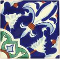 Imperial  - Ceramic Hand painted Mexican Talavera Tile