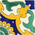 Capri  - Ceramic Handcrafted Mexican Talavera Tile Decorative