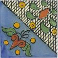 Merida  - Ceramic Handcrafted Mexican Talavera Tile Decorative