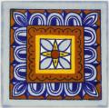 Veleta - Ceramic Hand painted Mexican Talavera Tile