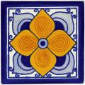 Flor Sevillana - Handcrafted Mexican Tile