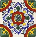 Valle - Ceramic Handcrafted Mexican Talavera Tile Decorative